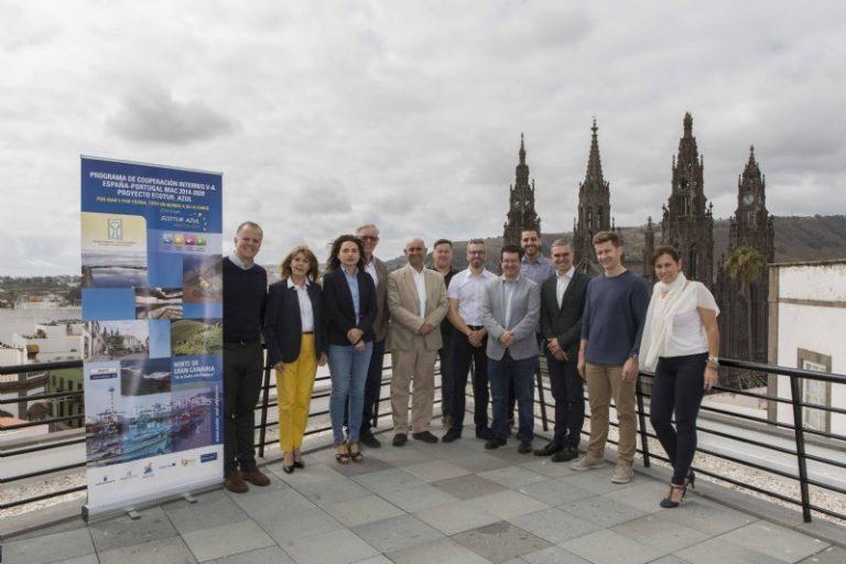 Turismo Lanzarote encabeza el tercer Comité de Pilotaje del proyecto Ecotur-Azul en Gran Canaria