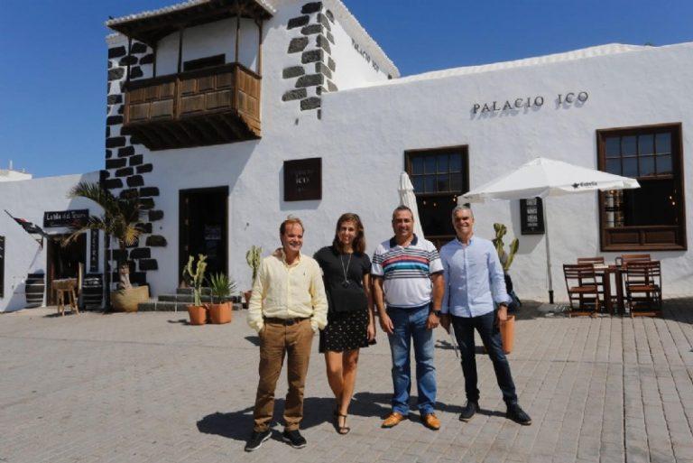 El Hotel Emblemático Palacio Ico se une como nuevo patrocinador a Turismo Lanzarote