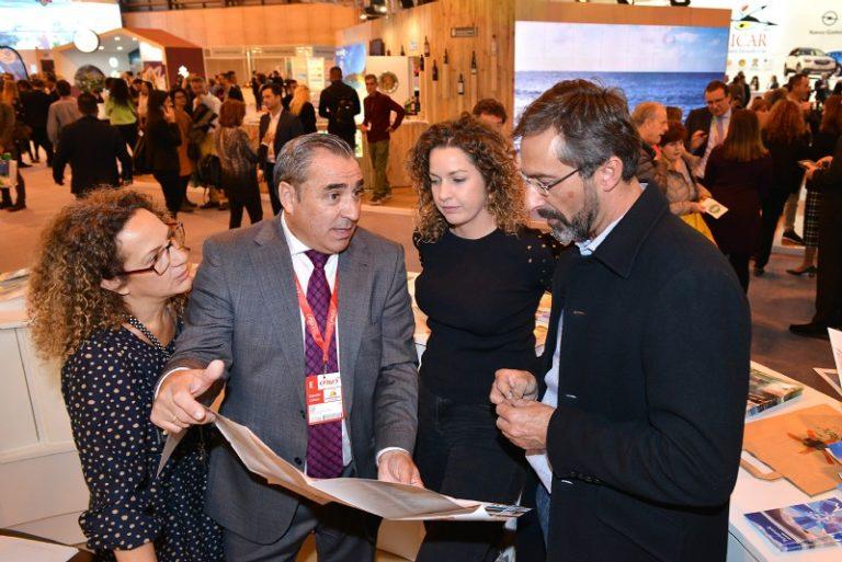 Lanzarote cierra la segunda jornada de FITUR  con 'perspectivas alentadoras' tanto del turismo nacional como del británico para el 2019