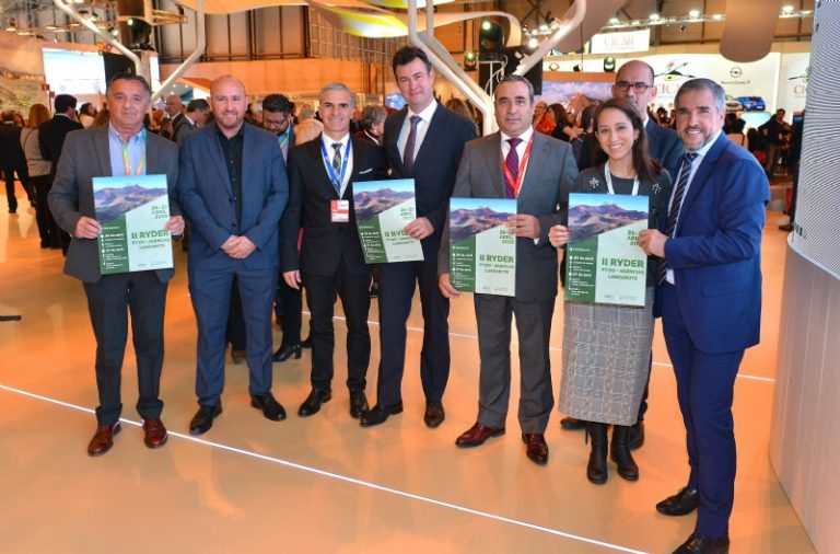 Turismo Lanzarote promocionó durante FITUR el torneo Ryder Golf, dirigido a directivos de las principales líneas aéreas europeas y touroperadores