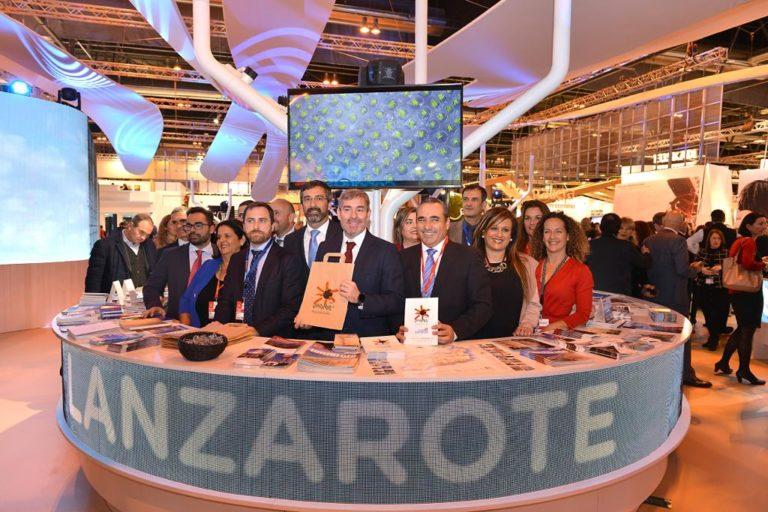 Lanzarote presenta sus mejores credenciales como destino sostenible y su apuesta por la innovación tecnológica en FITUR 2019