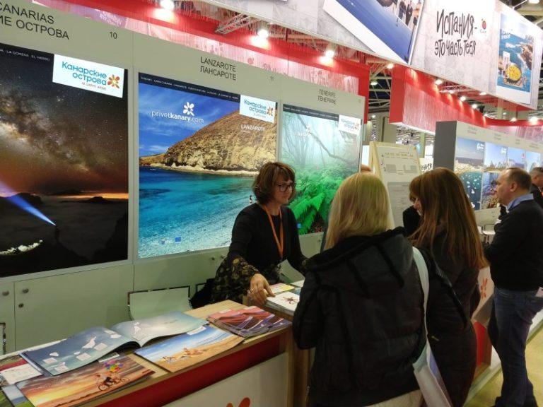Turismo Lanzarote incide en la feria Moscú en la diversificación de los mercados emisores y la búsqueda de turistas con alto poder adquisitivo