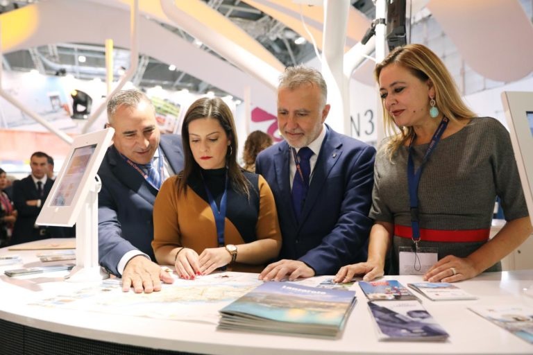Lanzarote expone el único stand de Canarias con tecnología digital en la World Travel Market
