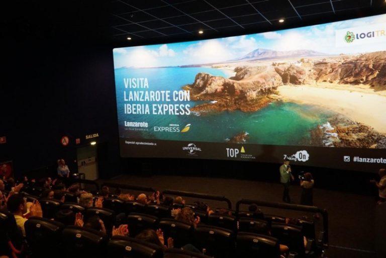 El video promocional de Lanzarote elaborado con tecnología 4DX, finalista en 'FITUR Film And Video Competition'