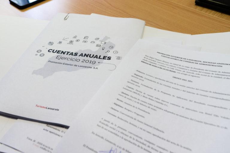 SPEL-Turismo Lanzarote cierra el 2019 con las cuentas equilibradas, avaladas un año más por el informe provisional favorable de una auditoría