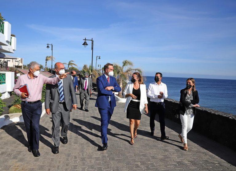 Visita secretario de Estado de Turismo- Turismo Lanzarote