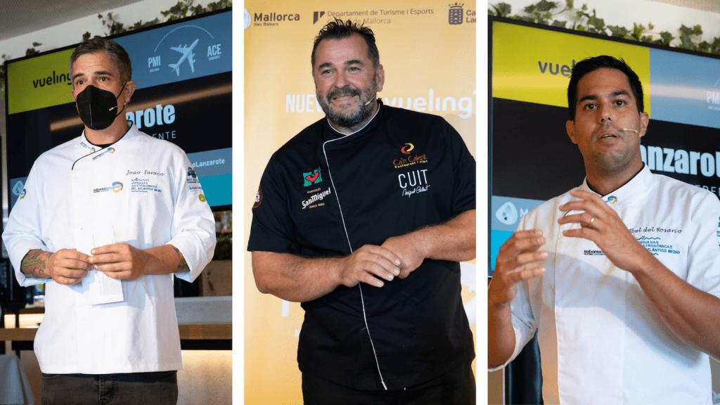 Chefs Presentación ruta Vueling ACE- PMI Turismo Lanzarote