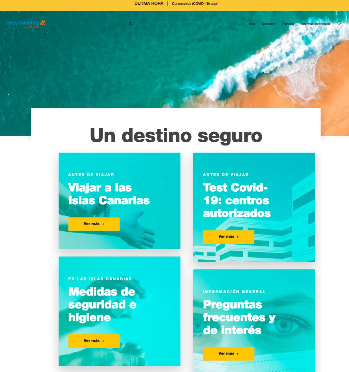 WEB holaislascanarias.com - turismolanzarote.com