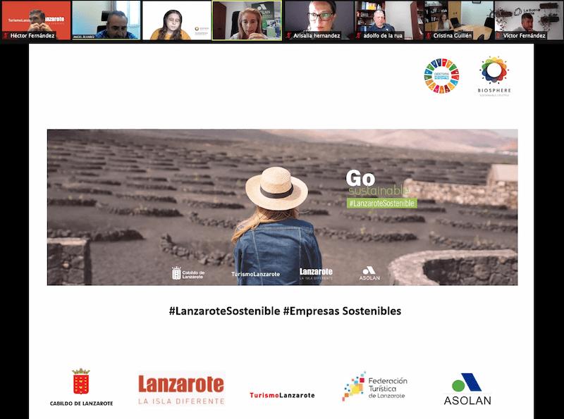 Webinar Asolan Biosphere Sustainable Lifestyle - Turismo Lanzarote