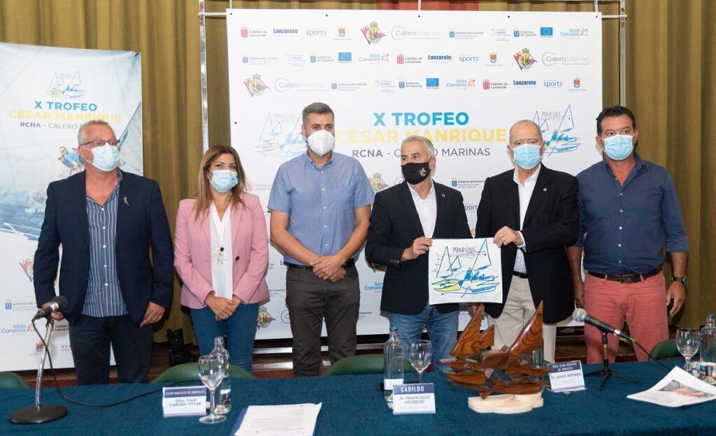 Presentación trofeo César Manrique vela cruceros - Turismo Lanzarote