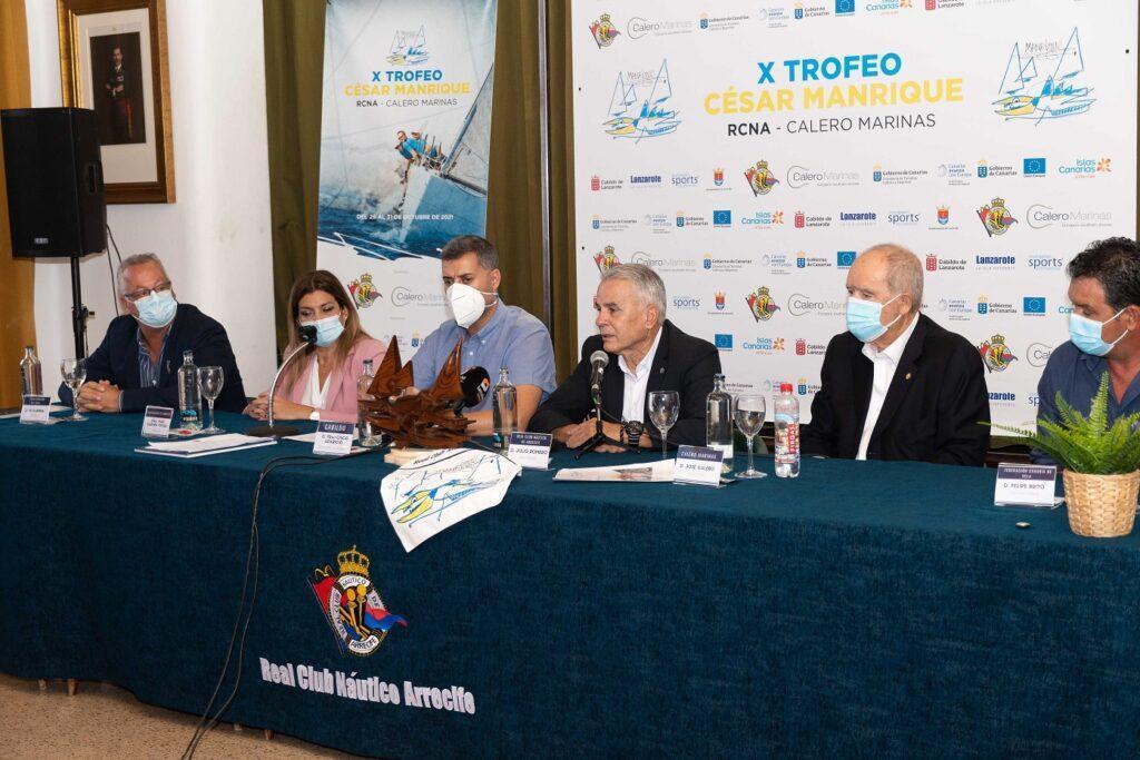 Presentación trofeo César Manrique clase cruceros