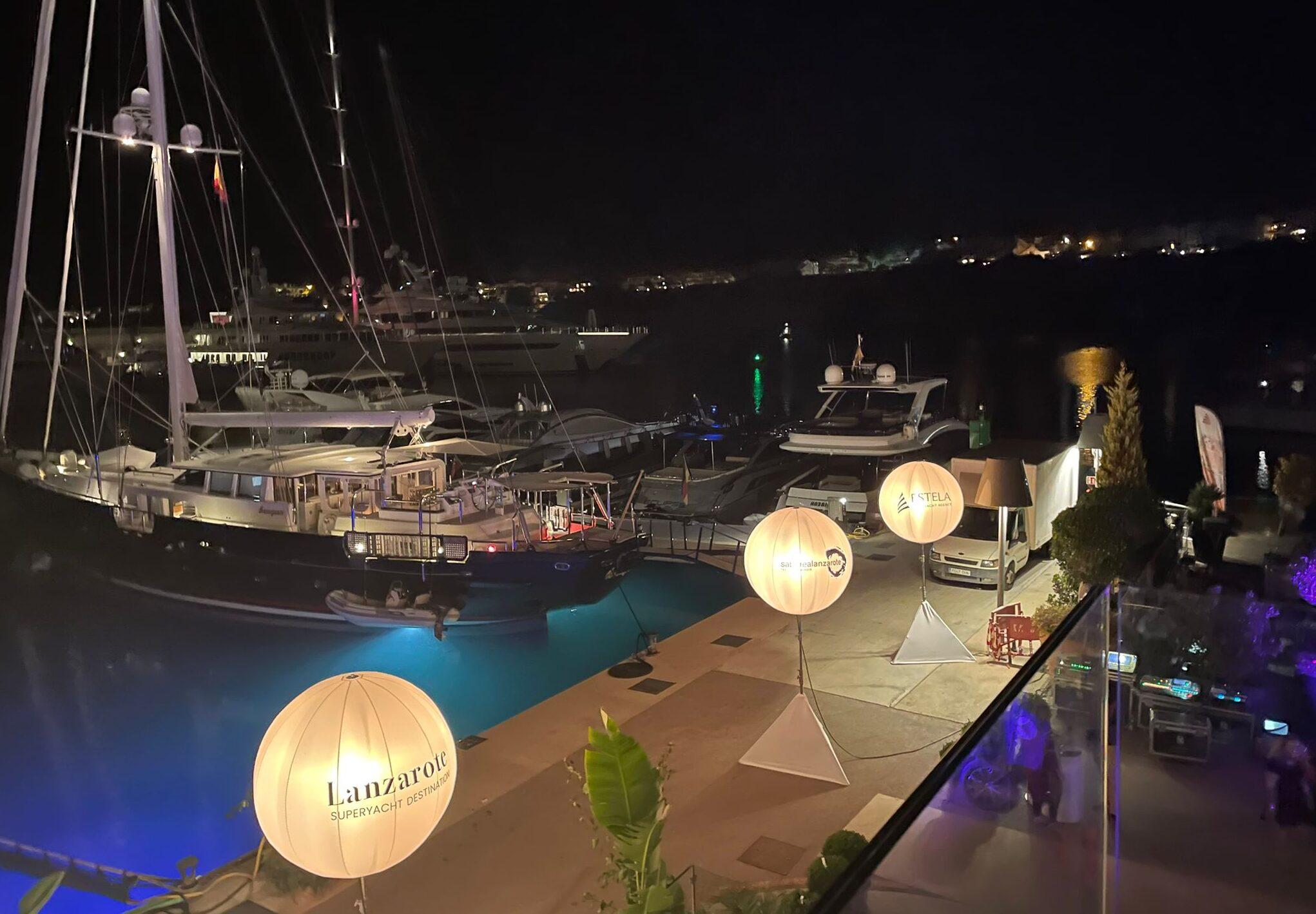 Presentación Lanzarote superyacht Estela agency